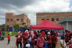 Project Launching at Sungai Burong Arowana